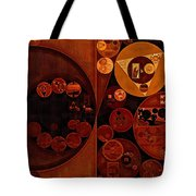 Abstract Painting - Smoky Black Tote Bag