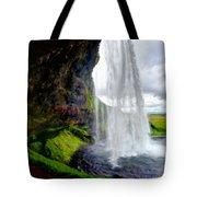 Acrylic Landscape Tote Bag