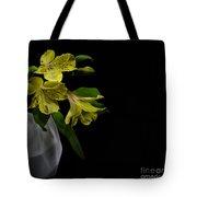 Alstroemeria Flower Tote Bag