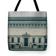 Architecture And Buildings On Streets Of Washington Dc Tote Bag
