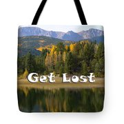 Autumn Aspen At Crystal Creek Reservoir Pikes Peak Tote Bag