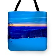 Beautiful Winter Landscape At Timberline West Virginia Tote Bag