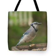 Bluejay Tote Bag