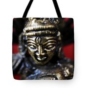 Buddha Sculpture Tote Bag