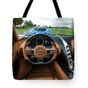 Bugatti Chiron And Vision Gt Tote Bag