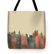 Cambridge England Skyline Tote Bag