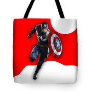Captain America Collection Tote Bag
