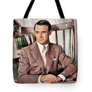 Cary Grant, Vintage Actor Tote Bag