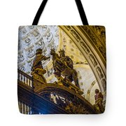 Cathedral Of Seville - Seville Spain Tote Bag