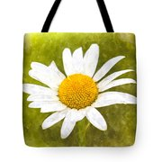 Chamomile Watercolor Tote Bag