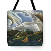 Clouds And Water Tote Bag