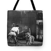 Clyde Beatty (1903-1965) Tote Bag