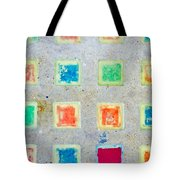 Colorful Tiles Tote Bag