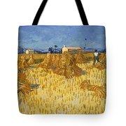 Corn Harvest In Provence Tote Bag