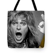 David Lee Roth Collection Tote Bag