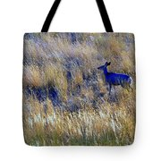 Deer Outdoors. Tote Bag