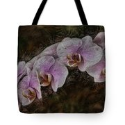 5 Dollar Orchid Tote Bag