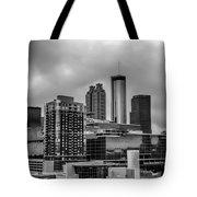Downtown Atlanta, Georgia Usa Skyline Tote Bag
