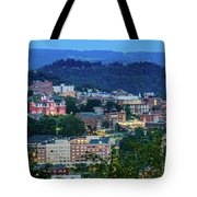 Downtown Morgantown And West Virginia University Tote Bag