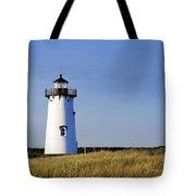 Edgartown Lighthouse Tote Bag