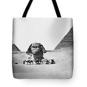 Egypt: Great Sphinx Tote Bag