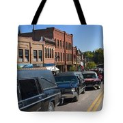 Emma Crawford Coffin Races In Manitou Springs Colorado Tote Bag