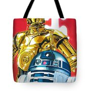 Episode 1 Star Wars Art Tote Bag