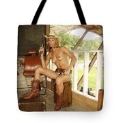 Everglades Cowgirl Tote Bag