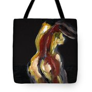 Fat Nude Woman  Tote Bag