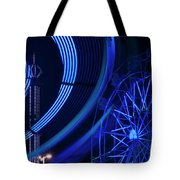Ferris Wheel In Motion Tote Bag