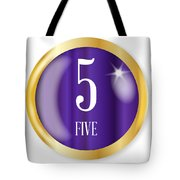 5 For Five Tote Bag