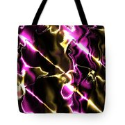 Fractal Modern Art Seamless Generated Texture Tote Bag