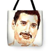 Freddie Mercury Portrait Tote Bag