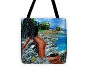 Girl Nude Tote Bag