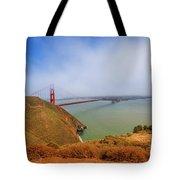 Golden Gate Bridge Vista Point Tote Bag