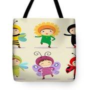 Happy Children  Tote Bag