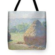 Haystacks, End Of Summer Tote Bag