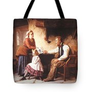 In Disgrace William Henry Midwood Tote Bag