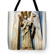Interior Statue - San Xavier Mission - Tucson Arizona Tote Bag