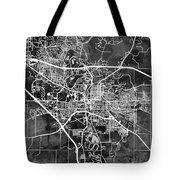 Iowa City Map Tote Bag
