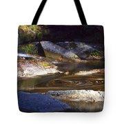 Waterfall Swirl Tote Bag