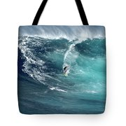 Jaws Wave Tote Bag