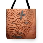 Jesus Christ  - Tile Tote Bag