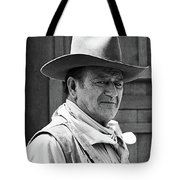 John Wayne Rio Lobo Old Tucson Arizona 1970 Tote Bag