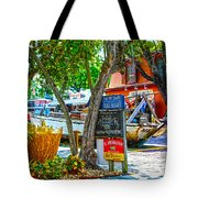 Key West Florida The Conch Republic Tote Bag