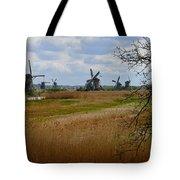 Kinderdijk Windmills Tote Bag