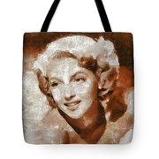 Lana Turner Vintage Hollywood Actress Tote Bag