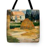Landscape Near Arles Tote Bag
