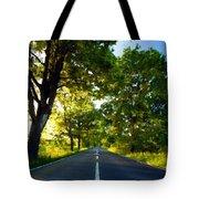 Landscape Oil Painting Tote Bag