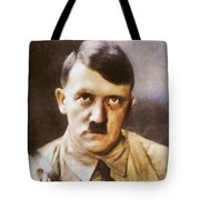 Leaders Of Wwii, Adolf Hitler Tote Bag
